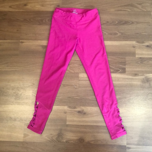 42a0708451 90 Degree By Reflex Other - 90 degree by reflex girls hot pink leggings